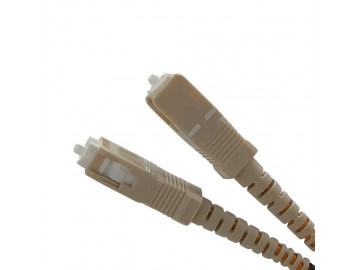 25 ft. Fiber Optics Patch Cord- duplex multi-mode (SC-SC)