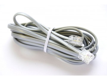 15 ft. Telephone Line Cord , 6P4C, Mod-Mod