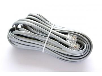 25 ft. Telephone Line Cord , 6P4C, Mod-Mod