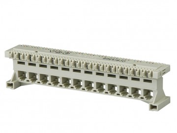 4C X 12 port modular to BIX-Type connector