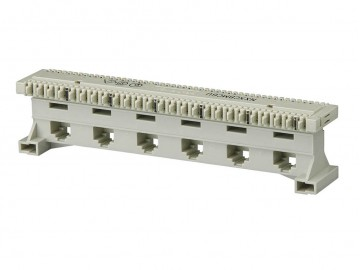 8C (T568A) X 6 Port modular to BIX-Type connector