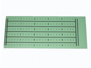 BIX Label 4 & 5 pr. Marking (5 per sheet), Green