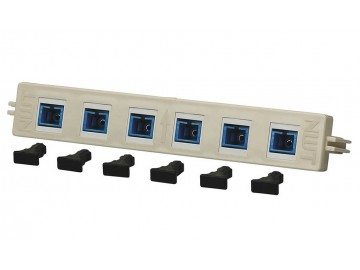 6 Port - SC Fiber Module - BIX Mount