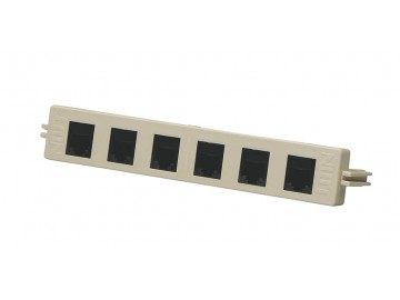 6 Port - 6C - Voice Module - BIX Mount