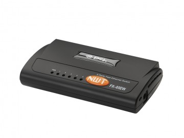 5 Port 10/100 Mbps Switch, plastic body