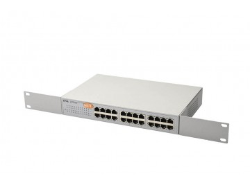 "24 Port 10/100 Mbps Switch, Metal body, 19"" Rack mount"
