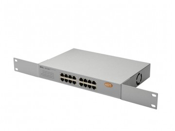 16 Port, 10/100/1000 Mbps, Gigabit Switch, QOS, Rack Mount