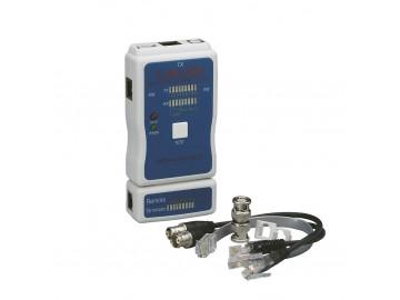 Universal Cable Tester, Cat.5E/Cat.6/Cat.6A, USB, BNC, F, RCA