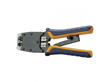 Universal Ratchet Tool, Heavy Duty, 6P for Line Cords & 8P for Data