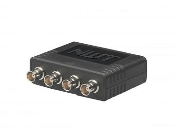 4 Port CCTV Balun, 4 X BNC to 1 X RJ45