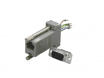 DB9 Female to 8P8C (RJ45) Jack