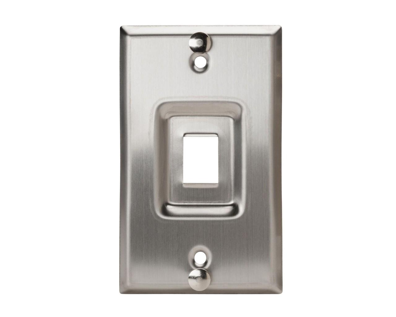 Wall Phone Stainless Steel Keystone Plate   New World Telecom Inc.