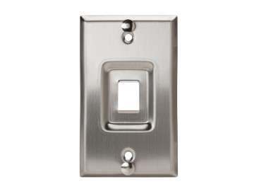 Wall Phone Stainless Steel Keystone Plate