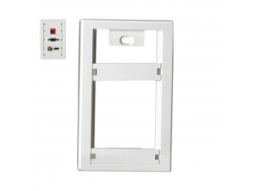 Cover Plate, White