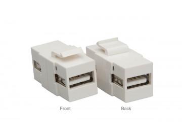 USB Keystone A - A, White