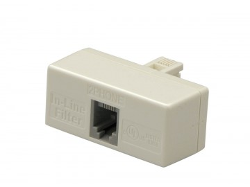 T-In Line, 2 Line XDSL Filter with conditioner
