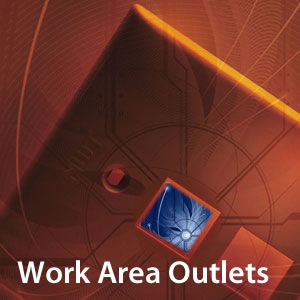 New World Telecom Work Area Outlets